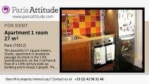 Studio Apartment for rent - Reuilly Diderot, Paris - Ref. 3068