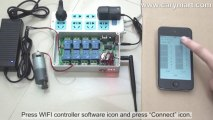 Smartphone Wi-Fi Controller AC or DC Output for DC Motor (iOS system)