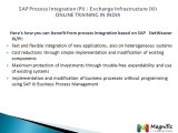 SAP Process Integration (PI)  Exchange Infrastructure (XI) online training in india@magnifictraining.com