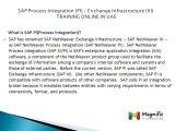 SAP Process Integration (PI)  Exchange Infrastructure (XI) Certification training in uae@magnifictraining.com