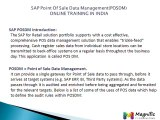 Sap Point Of Sale Data Management(POSDM)ONLINE TRAINING IN INDIA@magnifictraining.com