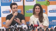 Imran & Kareena at the Promotion of Gori Tere Pyaar Me at Radio City