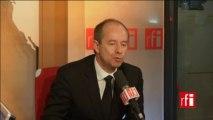 Jean-Jacques Urvoas, député PS du Finistère, président de la commission des lois de l'Assemblée nationale