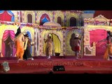 The battle between Lord Ram and Raavan - From the set of Lav Kush Ramlila