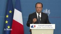 """NSA : François Hollande promet un """"cadre commun de coopération d'ici la fin de l'année"""""""