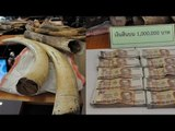 Thailand seizes illegal ivory from Africa: suspects offer to bribe officers