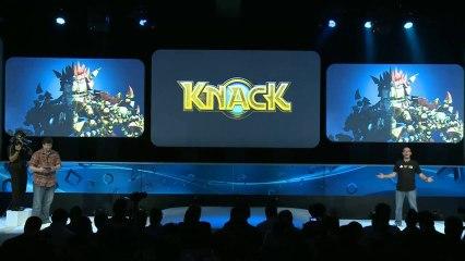 Remote Play Gameplay de Knack