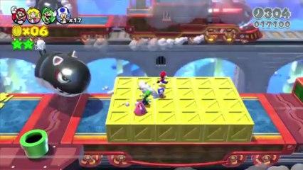 Super Mario 3D World - Red Carpet Completed Trailer - da Nintendo