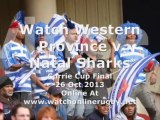 Watch Online Rugby Stream Western Province vs Natal Sharks