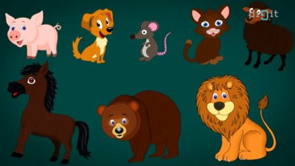 Animal Sounds For Kids! - Song