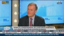 Focus sur Gemalto et sa stratégie d'avenir: Olivier Piou, Olivier Johanet, Frédéric Simottel, dans Intégrale Bourse - 25/10 2/2