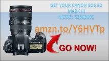 Canon 5260B009|Canon 5D Mark III Lens Kit|EOS 5D Mark III|Canon 5D Mark III 24-105mm|Model 5260B009