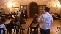 Un cours de théâtre pour les étudiants en médecine de Montpellier
