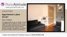 Appartement Studio à louer - Centre George Pompidou, Paris - Ref. 5087