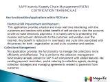 SAP Financial Supply Chain Management(FSCM) CERTIFICATION TRAINING UAE@magnifictraining.com