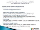 Sap Web Channel Experience Management(WCEM) CERTIFICATION TRAINING IN UAE@magnifictraining.com
