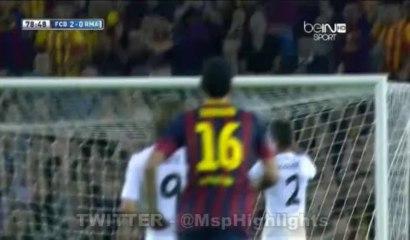 Barcelona vs Real Madrid 2:0 Alexis Sanchez