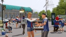 The Sims 3 University Life Blaise Talks Sims Trailer
