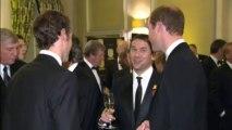 Prince William attends FA gala dinner