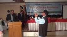 Vote of Thanks by Khalid Asad in Pre Budget Seminar