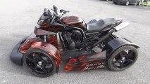 2013 Stunt Drift Crazy Show BMW M3 Kawasaki Z1000 Honda CBR 600 Suzuki Bandit 1200