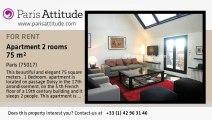 1 Bedroom Duplex for rent - Porte Maillot/Palais des Congrès, Paris - Ref. 6686