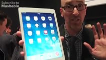 iPad Air Presentation First Look to the iPad Air at the Apple Event