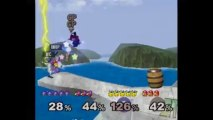 Super Smash Bros. Melee   Team Melee Gameplay   Part 4   Nintendo GameCube (GCN)   Corneria