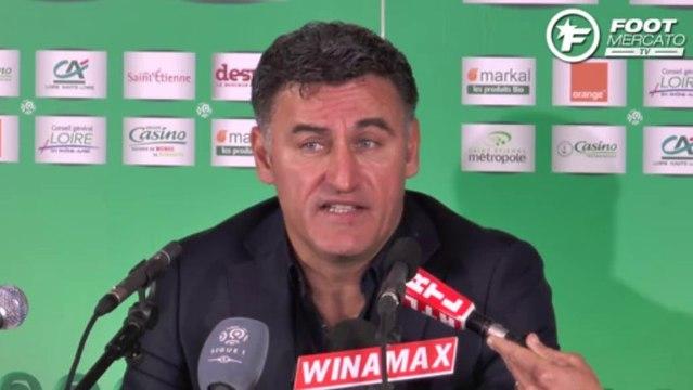 ASSE : Christophe Galtier revient sur le match nul face au PSG !