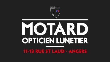 Publicité Motard Lunetier