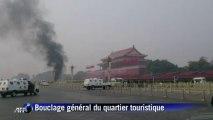 Chine: trois morts, des touristes blessés place Tiananmen