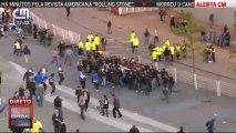 Confrontos entre adeptos junto ao Estádio do Dragão antes do FC Porto - Sporting