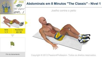 Exercício de Abdominais em 8 Minutos