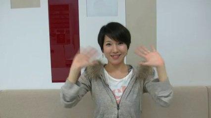 Mensaje de Aiko Nakano, cantante de Bailando con Vampiros para los aficionados