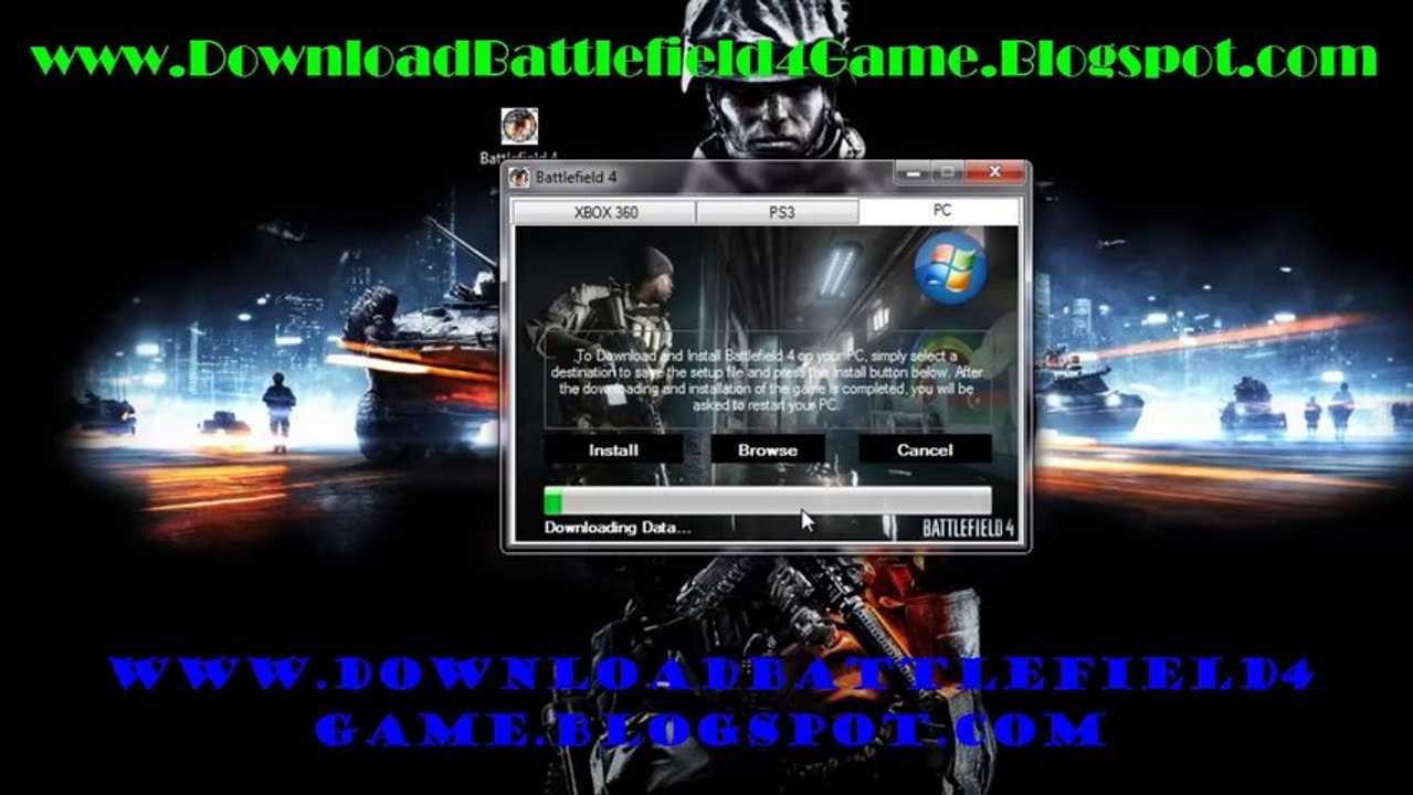 Install Battlefield 4 DLC Code Generator + Crack installer - Xbox 360 - PS3  - PC !!