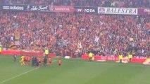 RC Lens et son public - clapping fin du match (Lens - Nîmes: 19/10/2013)