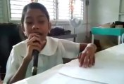 Wrecking Ball - Miley Cyrus. Blind Girl From The Philippines Sings 'Wrecking Ball'