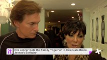 Kris Jenner Gets The Family Together To Celebrate Bruce Jenner's Birthday