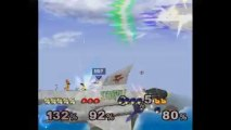 Super Smash Bros. Melee | Team Melee Gameplay | Part 5 | Nintendo GameCube (GCN) | Corneria