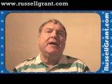 Russell Grant Video Horoscope Aquarius October Tuesday 29th 2013 www.russellgrant.com