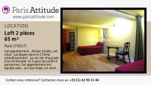 Loft 1 Chambre à louer - Pereire, Paris - Ref. 7556