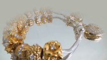 Sterling silver beads gold plated from Thailand manufacturer