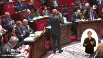 """Ayrault à l'UMP : """"L'écotaxe, c'est vous qui l'avez décidée"""""""