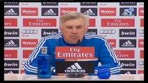 Ancelotti, rueda de prensa previa al partido contra el Sevilla