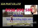 Tho chong tham dot nha tai quan 5- HCM / 0907 323 053