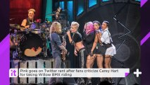Pink Goes On Twitter Rant After Fans Criticize Carey Hart For Taking Willow BMX Riding