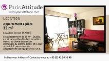 Appartement Studio à louer - Levallois Perret, Levallois Perret - Ref. 1412