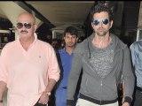 Krrish 3 cast Hrithik, Priyanka, Kangana and director Rakesh Roshan  return from Dubai