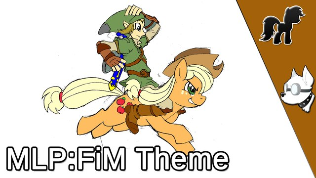 _My Little Pony_ Friendship is Magic_ Theme Song Played on Ocarina