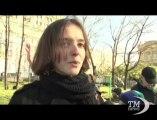 """Mosca ricorda le vittime di Stalin: """"Il governo non dice nulla"""". Centinaia di persone in piazza per ricordare le purghe"""